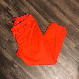 Bright Red Work Pants
